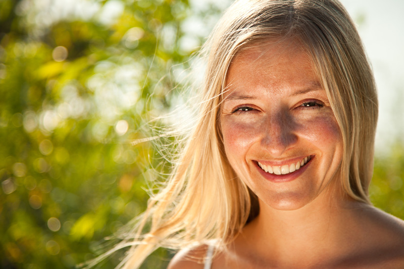Yoga radiant skin