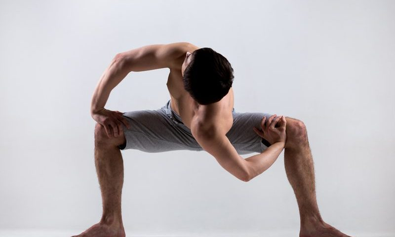Yoga men strength
