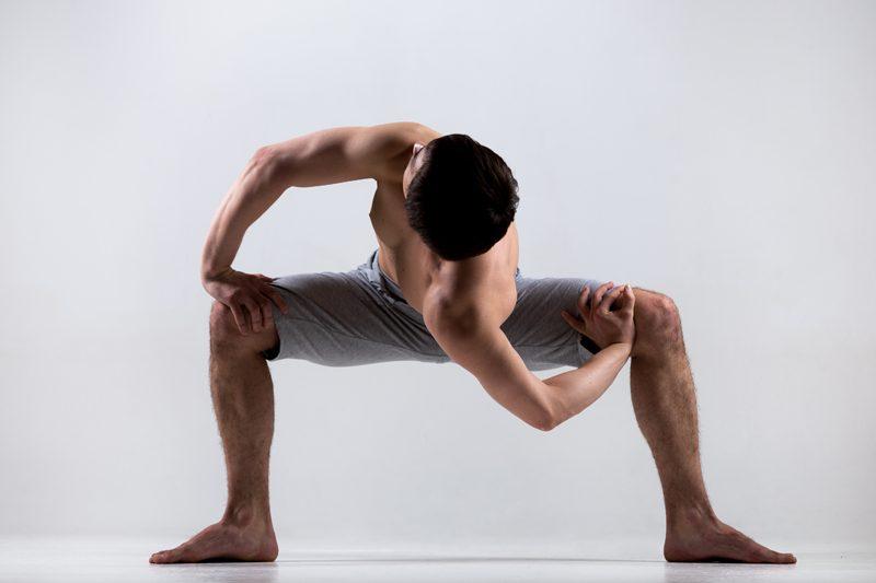 Yoga men strength