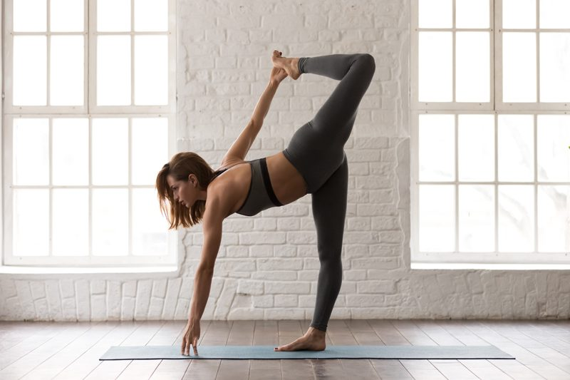 Yoga open heart