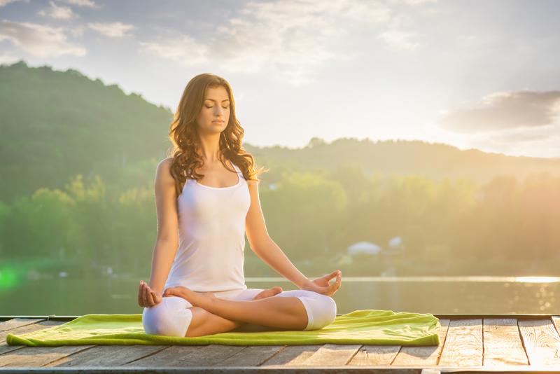 Yogahoudingen om Hypotensie te Verbeteren