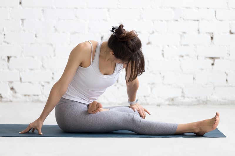 Йога для зачатия с фото
